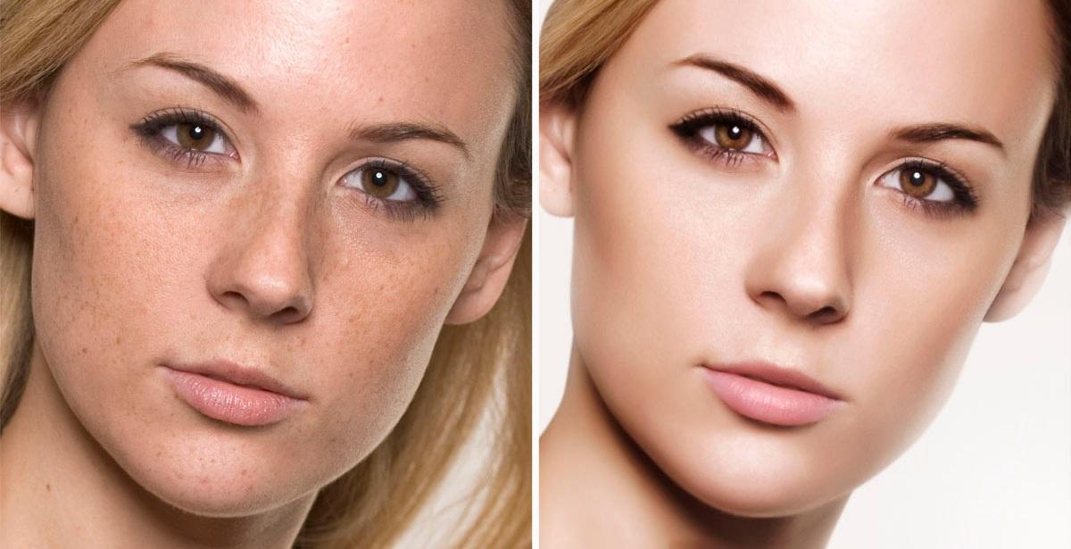 Beauty Skin Retouching